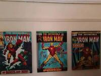 Marvel and star wars canvas