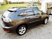 LEXUS RX400h SE-LUX AUTOMATIC CVT FULL HYBRID WITH V6 3.3 270HP TOP MODEL LATE 07 WITH 80K. SATNAV.