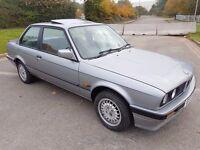 BMW 316i E30 1989 Auto 2 Door Coupe 81200 Miles Fantastic Condition