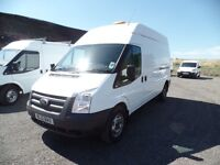 FORD TRANSIT 350 2012(12) LONG WHEEL BASE HI ROOF ONE OWNER FULL SERVICE HISTORY **NO VAT**