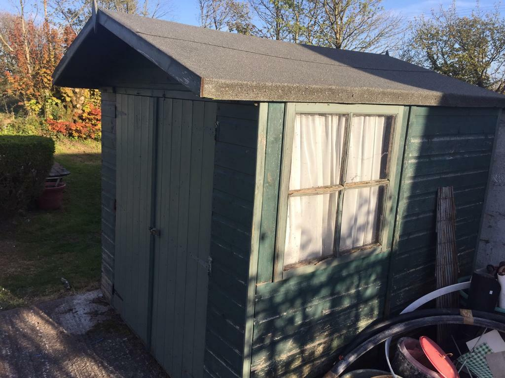 Garden Sheds 7x6 garden shed. 7x6.5 ft | in chacewater, cornwall | gumtree