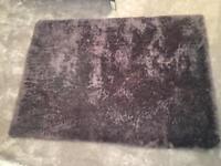 Large next mauve rug 120x190cm