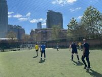 Brand new pitch in CLAPHAM JUNCTION. Weekly game FRIDAY 12:30 PM needs players!