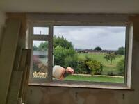 Large double glazed UPVC window - FREE to collect