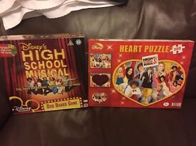 High School Musical DVD game and Jigsaw