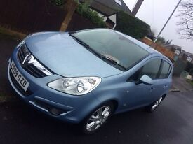 Vauxhall Corsa 1.2 Sky Blue 5 Door Really Great Condition