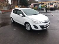Vauxhall corsa 1.2 se 2011 .eco flex .face lift model.f/s/h.low miles 30k .heated seats.park sensors