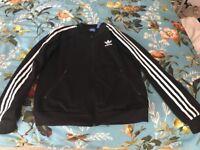 Ladies Adidas Originals zip up jacket, size 10