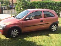Vauxhall corsa comfort 1.4 auto