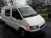 W4 MFB - Ford transit van for sale. Mileage 63940. Taxed. MOT due April.