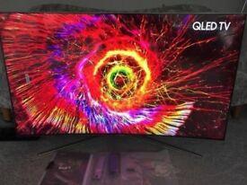 "SAMSUNG 49"" QLED TV Smart Television 4K Ultra HD HDR Curved QE49Q7CAMT RRP £1599"