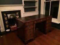Now sold - Twin pedestal desk £100