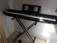 Yamaha Piano keyboard for sale in excellent condition.