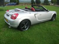 TOYOTA MR2 ROADSTER 1.8 VVTI WITH UPGRADES choice of 2