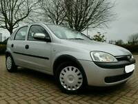 2003/03 VAUXHALL CORSA 1.2 CLUB *1 OWNER FROM NEW IMMACULATE CONDITION THROUGHOUT*