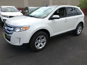 2013 Ford Edge SEL, Automatic, Leather, Back UP Camera, AWD