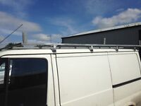 SWB Ford transit roof rack