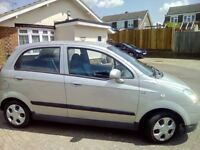 Chevrolet matiz 1.0l, silver, 5 door