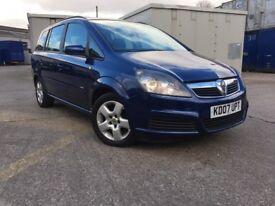 Vauxhall Zafira - 7 Seater - 1.8 i 16v Club 5dr - 12 months MOT