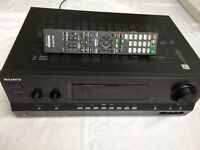 Sony Multi Channel 7.1 ch AV Receiver STR-DH810, Pioneer Surround Sound Speakers, and brackets