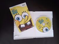 Spongebob Squarepants Truth or Square Wii Game