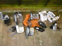 JOB LOT OF NEW & USED TELEPHONES