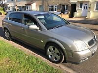 Vauxhall Signum Design DTI 2172cc Turbo Diesel 5 speed manual 5 door hatchback 03 plate 30/06/2003