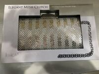 silver party purse 👛