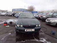 2003 X-Type Jaguar 2.0 MANUAL MOT'd June £795