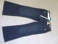 NEW BOOTCUT NEXT JEANS , BRAND NEW, NOT WORN 1/2 PRICE