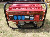 Generator CT6500W barely used, in a very good condition