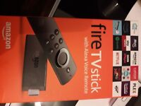 Fire tv stick NEW(UNBOXED) 25£