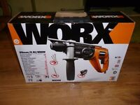 Worx WX338 SDS Rotary Hammer Drill - 650W brand new boxed