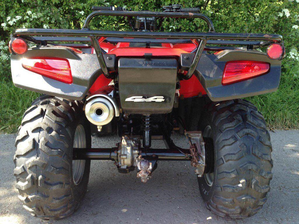 HONDA TRX 350 FOURTRAX FARM GRIZZLY FOREMAN QUAD ATV 420 500 250 300