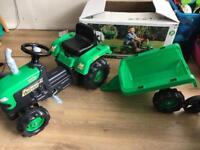 New traktor in box