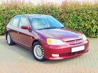 Honda Civic IMA 1.3 2003 102k HYBRID Electric very economical 4 door not prius insight yaris leaf