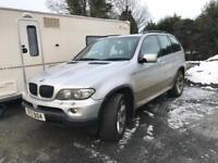 BMW X5 Silver 2006