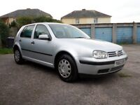 Volkswagen golf 1.4 petrol 4 door