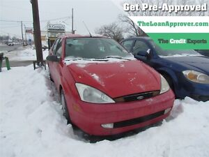 2003 Ford Focus SE Sport | FRESH TRADE | AS IS | WINTER BEATER