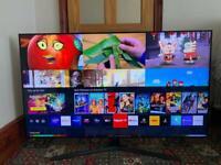 SAMSUNG UE55TU8500 55 Inch Smart 4K Ultra HD HDR LED TV with Bixby, Alexa 2020 Model