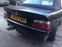 Bmw e36 Cabriolet convertible rear bootlid tailgate m3 m tech facelift