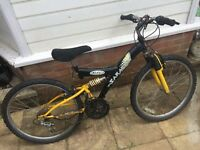 Black and Yellow bike