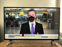 Bush 43 inch slim Full HD Smart LED TV, WiFi Freeview Latest model, great condition LIKE NEW