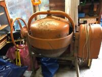 used cement mixer, large