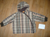 Light jacket for boy 18-24mths/ 18-24 mths/ 1.5-2 years/ 1.5-2years. Mini mode. Very good condition.