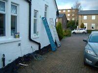 3 tier aluminium ladders in very good condition