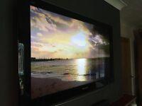 "Panasonic 46"" widescreen Viera 1080P Full HD Plasma TV with freeview"