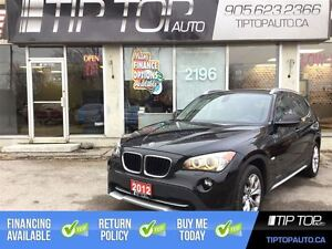 2012 BMW X1 28i ** NAV, Leather, AWD, Low Kms **