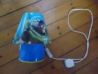 Toy story child's table/bedside lamp