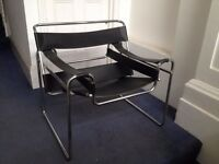Marcel Breuer Art Deco Wassily chair reproduction